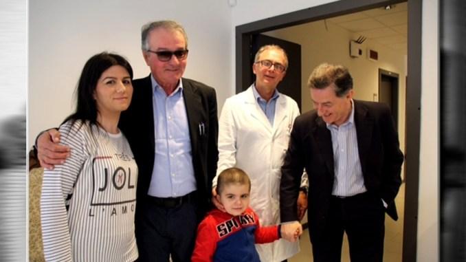 Perugia, Dion guarito dalla leucemia, torna a casa dopo un anno di terapie