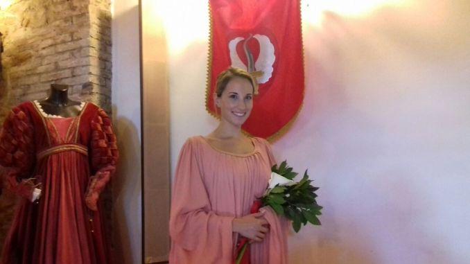 Rione Sant'Angelo, Perugia 1416, Antonia Ruspolini è la Prima dama