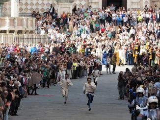 Perugia 1416, sfide, giochi e corteo, ecco i nuovi punteggi