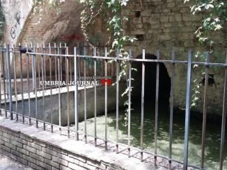 Degrado al Fontone del Parco Sant'Anna a Perugia