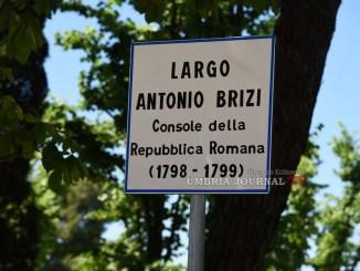 Il perugino Antonio Brizi fu notaio, avvocato, studioso di letteratura e di storia, protagonista di numerose Colonie Accademiche