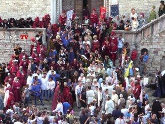 Perugia1416, il Rione Porta Santa Susanna si aggiudica il palio [FOTO E VIDEO]