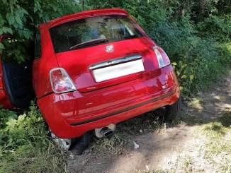 Incidente stradale in via San Girolamo a Perugia, due vetture si scontrano