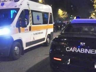 Morte nella notte sulla strada Flaminia al bivio di Pietrarossa