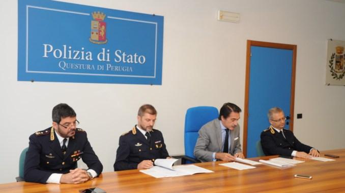 Perugia, fermati dalla polizia gli spacciatori di Case Bruciate