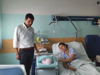 E' nata Matilde Romizi, pesa 2 kg e sei. è figlia del sindaco di Perugia, Andrea