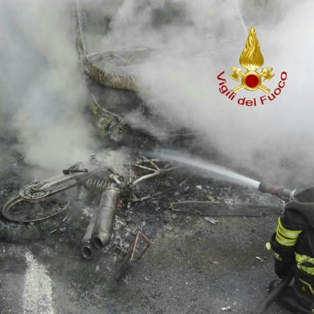 Incidente stradale a Camporeggiano, due motociclisti feriti