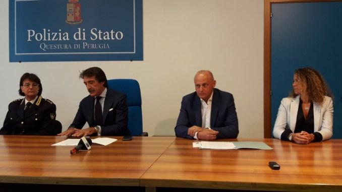 Servizi del CRES, firmata convenzione fra Questura di Perugia e USL Umbria 1