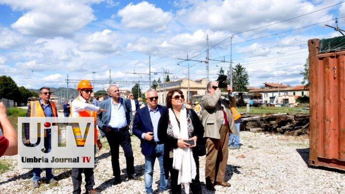 Fcu, cominciati lavori su tratta ferroviaria Umbertide Città di Castello