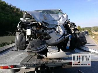 Incidente stradale mortale Perugia frontale auto furgone, muore donna (3)