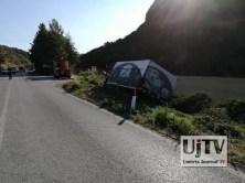 Incidente stradale mortale Perugia frontale auto furgone, muore donna (6)