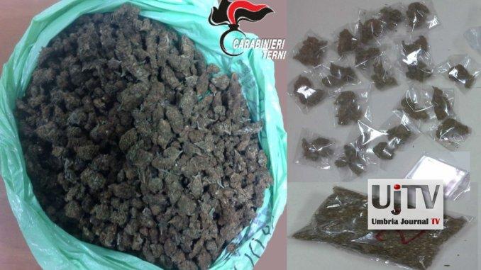Nigeriano arrestato a Narni, aveva mezzo chilo di marijuana