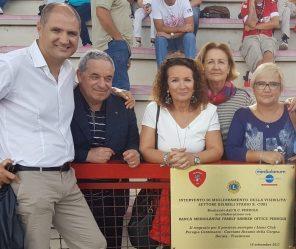 Lions Club contribuisce a realizzazione progetto diversamente abili Stadio Curi