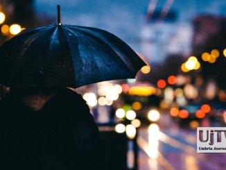Pioggia in Umbria, il freddo non molla la presa, ancora neve e vento