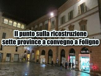 Ricostruzione, professioni tecniche sette province fanno il punto a Foligno