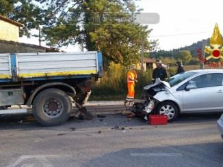 Incidente stradale lungo la Pievaiola ad Agello, ferita una donna