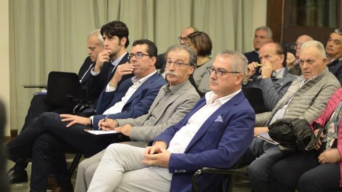 In prima fila Dino Ricci