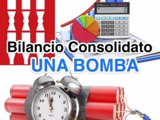 Bilancio Consolidato della Regione, Cludio Ricci, bomba a orologeria