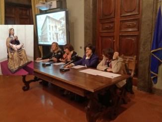 Valnerina, restaurata la statua Madonna in trono con Bambino, sarà in mostra a Spoleto