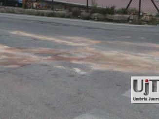 Incidente stradale in centro a Bastia Umbra, coinvolta anche una donna incinta