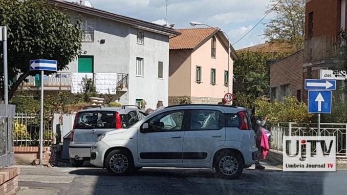 Incidente stradale a Ponte San Giovanni, coinvolto anche bambino