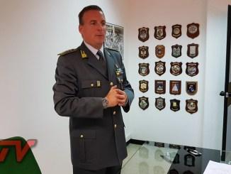 Suicida comandante provinciale Terni GdF, Colonnello Massimiliano Giua