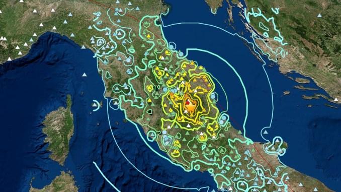 Terremoto magnitudo 6.5 parlano i geologi che hanno studiato il sisma