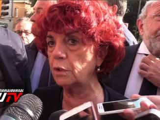 Ministro Valeria Fedeli a Inaugurazione nuovo anno dell'Unistra VIDEO