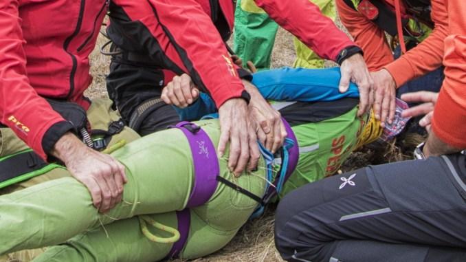 Escursionista di 59 anni ferito dopo caduta a Colonnetta di Prodo