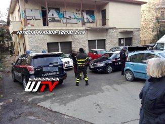Perugia social city su blitz Forze dell'ordine alla ex Telecom della Pallotta