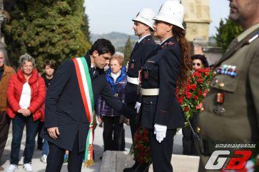 Commemorazione dei defunti, onore ai caduti al cimitero monumentale di Perugia [FOTO]