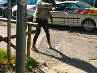Multe ai parcheggiatori e venditori abusivi alla fiera dei morti