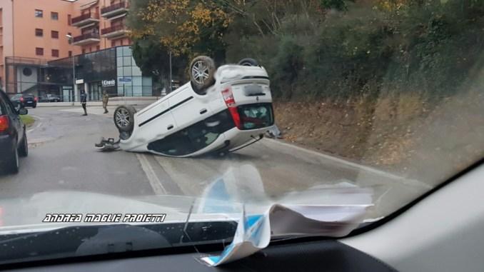 Tre incidenti a Perugia paralizzano la città, nessun ferito grave