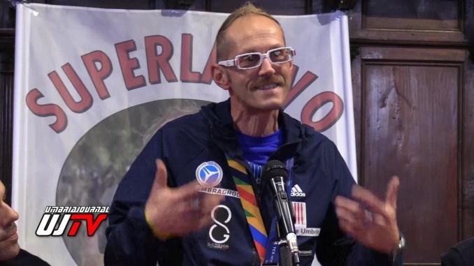 Leonardo Cenci ritorna a Perugia dopo Maratona New York, il video