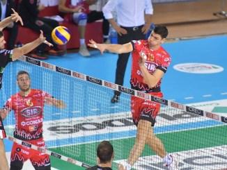 Volley, Sir Safety, arriva la prima sconfitta, la Lube si impone 3-0