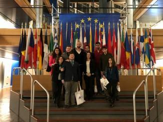 Giovani leghisti in trasferta a Strasburgo per conoscere i meccanismi del Parlamento Europeo