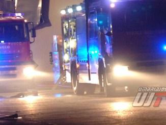 Tranciata tubatura del gas tra Pila e Perugia, strade chiuse e area circoscritta