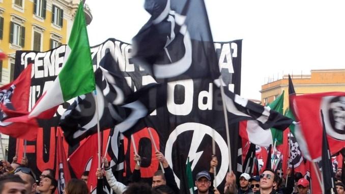 Perugia: il corteo di CasaPound partirà dalla stazione di Ponte San Giovanni e