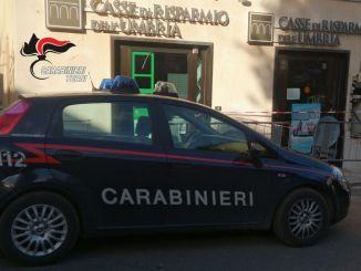 Esplosione nella notte assaltato bancomat a Calvi dell'Umbria