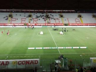 Partita fredda, termina1 a 0 la sfida tra Perugia-Ascoli