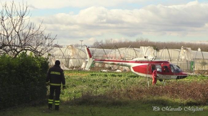 Riprese ricerche 80enne scomparsa da Costano, arrivato elicottero con tracciato GPS