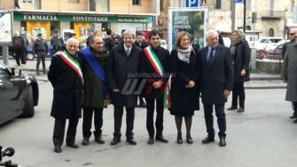 Il presidente del Consiglio Paolo Gentiloni è arrivato a Perugia [FOTO]