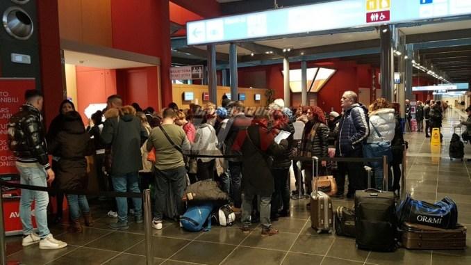 Aeroporto, a Natale oltre ottomila utenti, incremento del 5,7 per cento