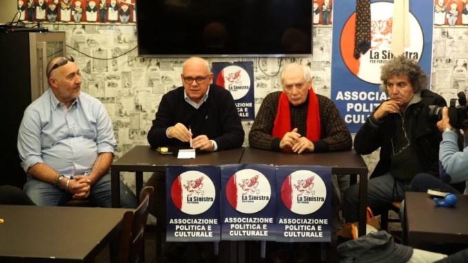 Da sinistra Daniele Paolucci, Stefano Vinti, Giuseppe Mattioli, Mohammed Farrar