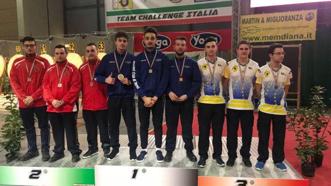 Arcieri Città di Terni Campioni d'Italia con la squadra juniores olimpico. Ottimo quarto posto a livello assoluto. Per i ternani anche un argento e un quarto posto.