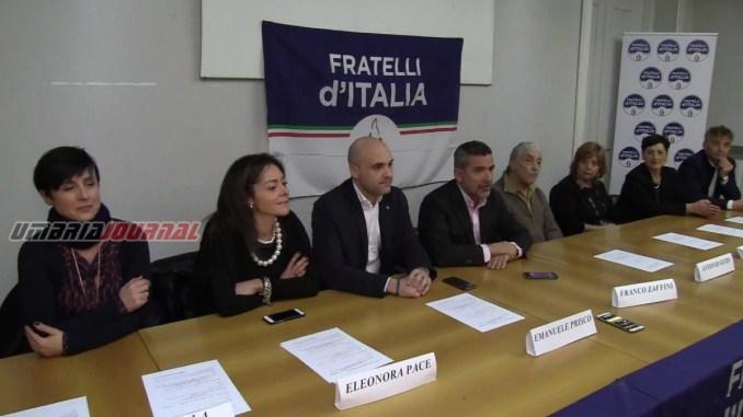 Politiche 2018, Fratelli D'Italia ha presentato la sua squadra VIDEO