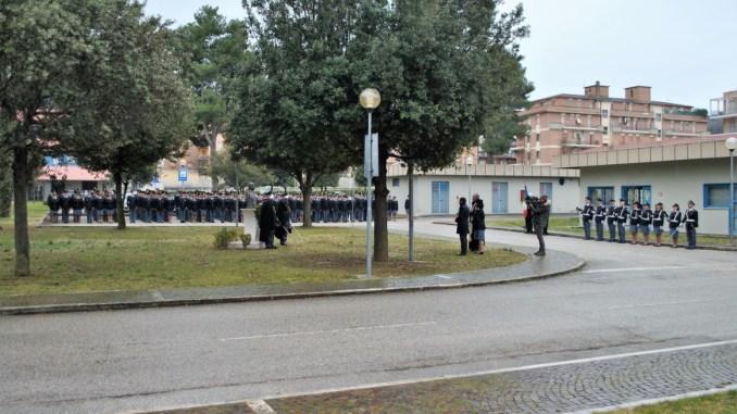 Cerimonia di commemorazione della medaglia d'oro al valor civile Rolando Lanari