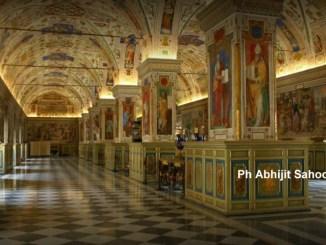 Equipe umbra ai musei Vaticani, l'esperienza di Archimede Arte