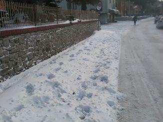 Freddo, neve e pioggia anche in Umbria per il fine settimana