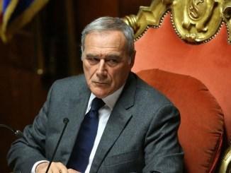 Pietro Grasso in Umbria, il presidente del Senato, Liberi e uguali anche in Valnerina